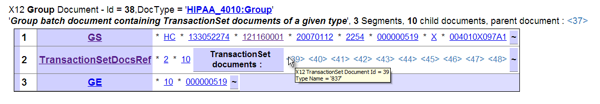Using the X12 Document Viewer Page - Ensemble X12 Development Guide